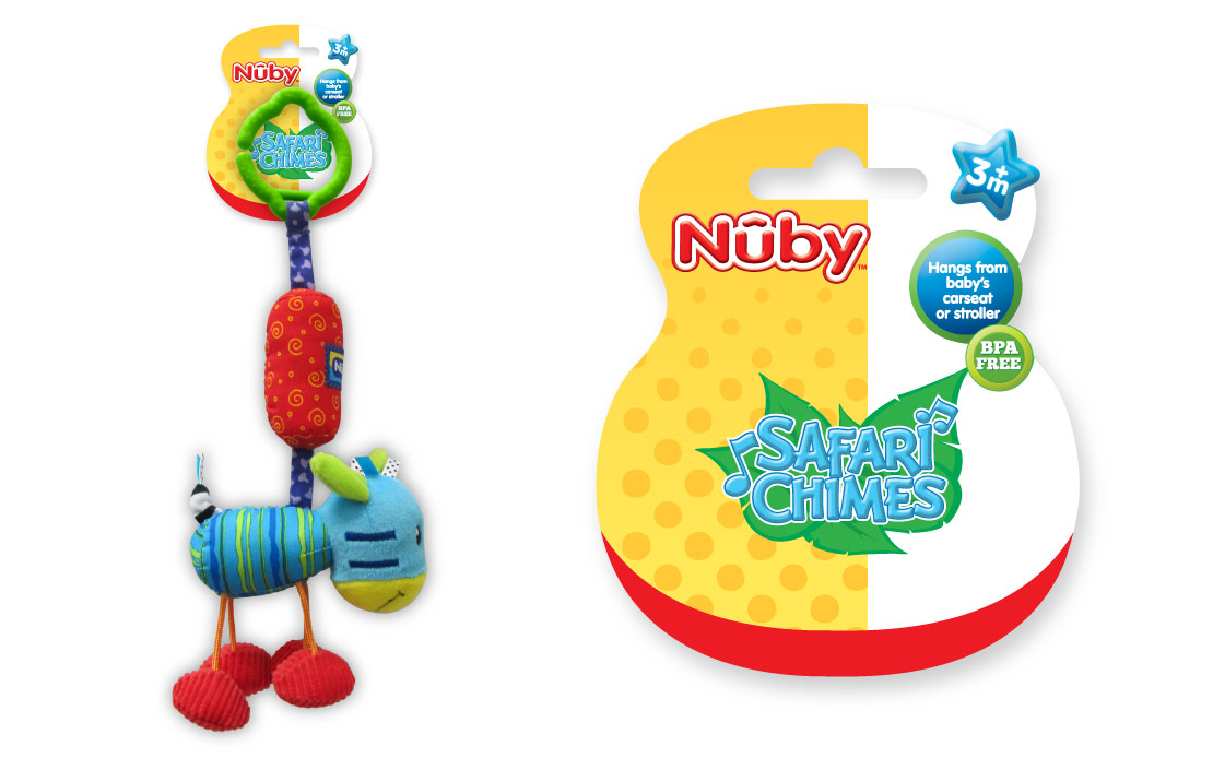 nuby baby product packaging graphic design portfolio