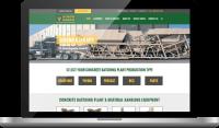 Concrete Batching Plant Website Design - Atomic Design & Consulting | Chris Bingham - Digital Marketing - Bingham Design