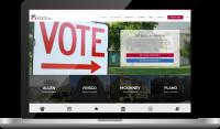County Republican Website Design | Bingham Design | conservative Republican Graphic Designer & Digital Marketer