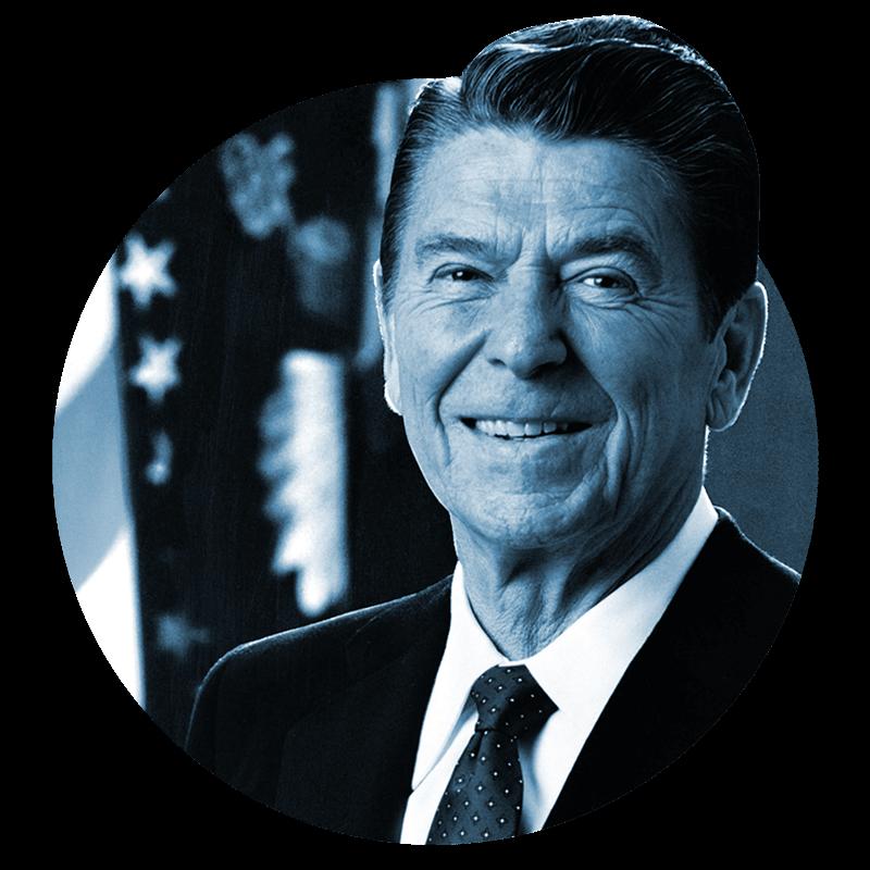 Republican Website Designs - Reagan Plan - Bingham Design